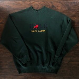 Bootleg polo crew neck